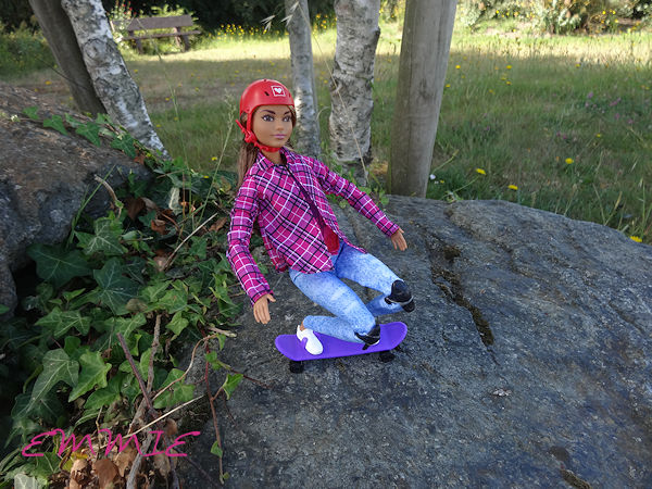 Barbie Made to Move Skateboarder  488