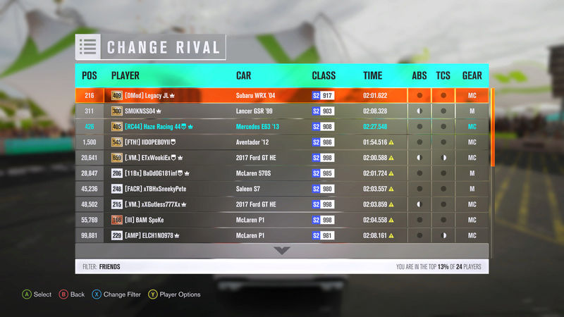 (FH3) STREET RACE Coober Pedy Highway Loop ~~~Open ((AWD/FWD/RWD) 3-5-1713