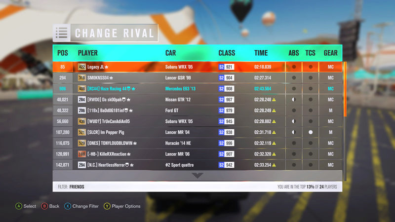 (FH3) Outback Redstine Strip Pass Trail~~~Open (AWD,FWD,RWD) Time_210