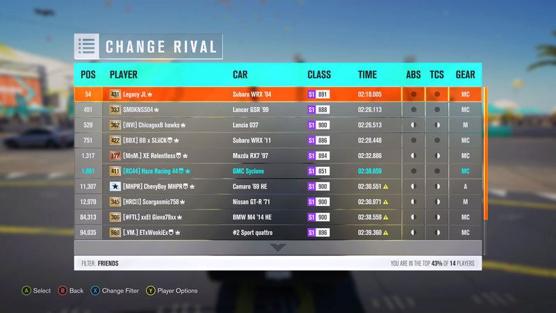 (FH3) Byron Bay Sweeping Forest Sprint!~~500 HP (AWD/FWD/RWD) Time_211
