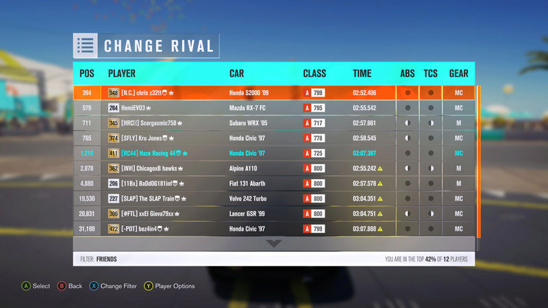 (FH3) Yarra Valley North Plains Sprint~~300 HP (FWD/RWD) Time_311