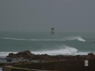 Variations naturelles près d'un phare au bout du monde 2210
