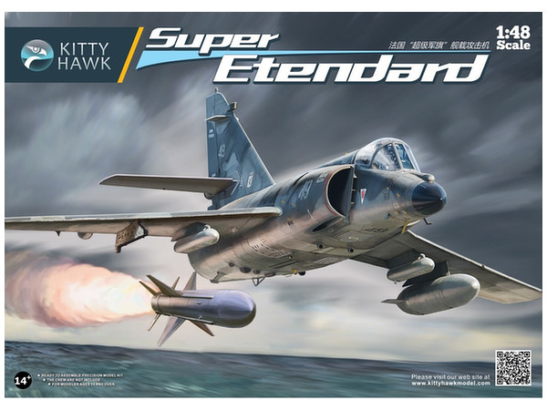 Ouvre-boîte Dassault Super-Etendard [Kittyhawk 1/48] Khmkh810