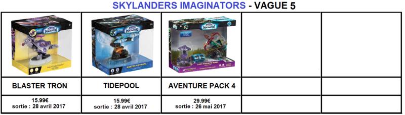 [SI] Skylanders Imaginators vagues 4 & 5 infos et date de sorties Si_v512
