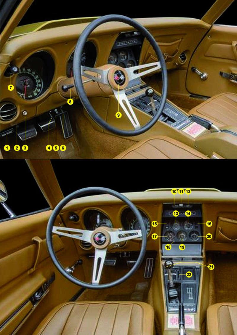 Dashboard Corvette 69 ... Dashbo13