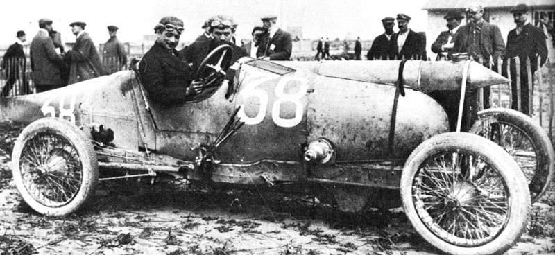 La COUPE des voiturettes, le Circuit de Rambouillet 1912_g10
