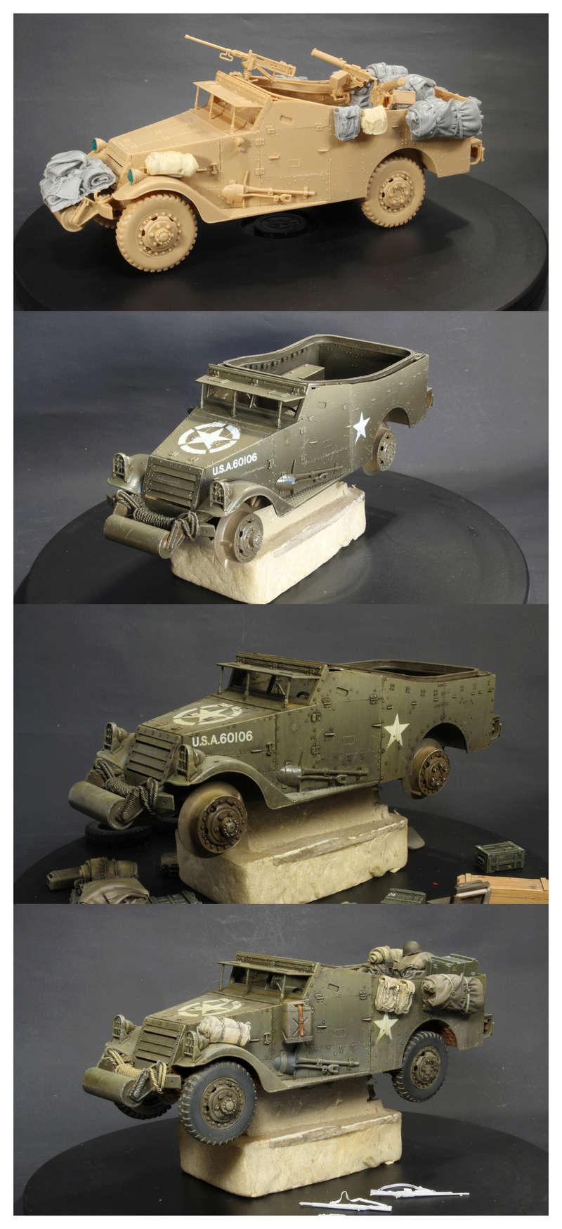 U.S. M3A1 « White scout Car » 1/35 de la marque HobbyBoss Coty_g10