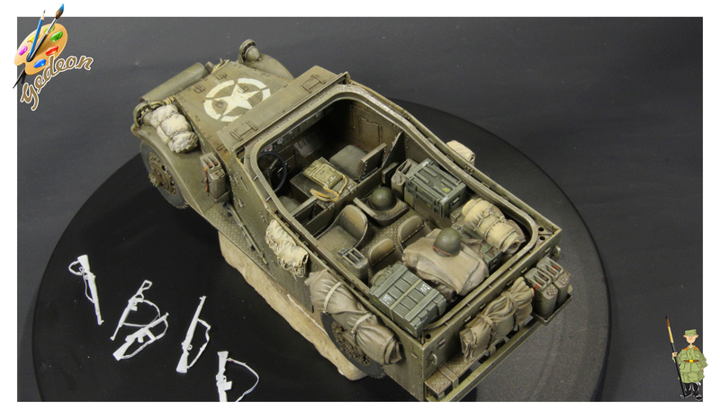 U.S. M3A1 « White scout Car » 1/35 de la marque HobbyBoss Dytail15