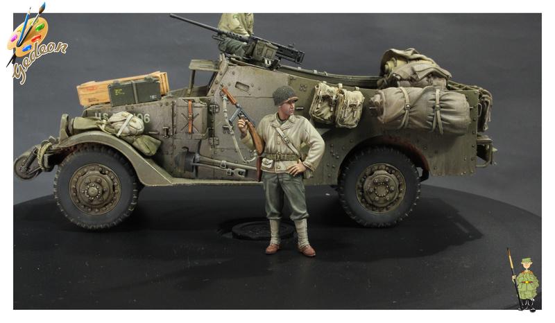 Sergent US WWII (44-45) de la marque DRAGON au 1/35ème (réf :6653) Terminée Fini_010