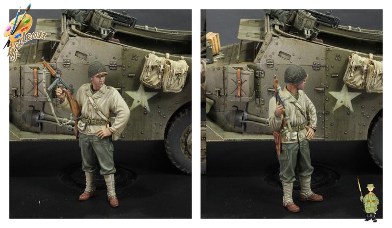 Sergent US WWII (44-45) de la marque DRAGON au 1/35ème (réf :6653) Terminée Fini_011
