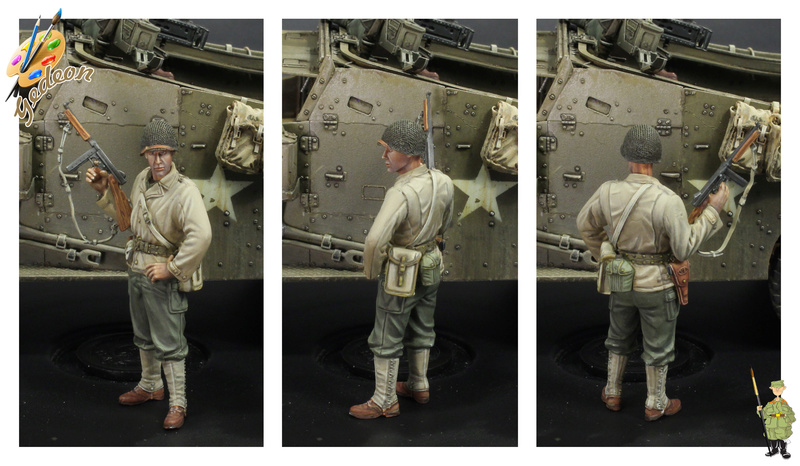 Sergent US WWII (44-45) de la marque DRAGON au 1/35ème (réf :6653) Terminée Fini_012