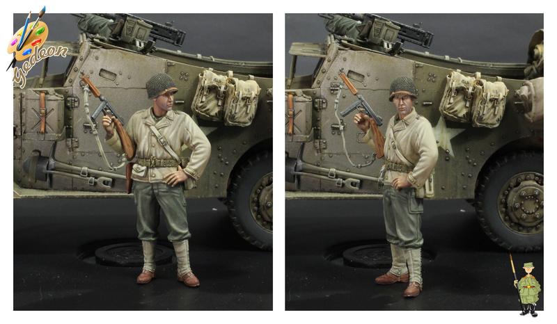 Sergent US WWII (44-45) de la marque DRAGON au 1/35ème (réf :6653) Terminée Fini_013