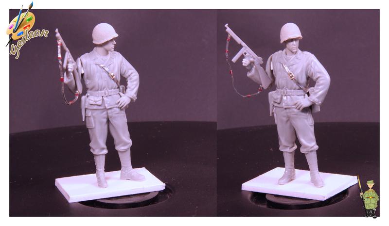 Sergent US WWII (44-45) de la marque DRAGON au 1/35ème (réf :6653) Image016