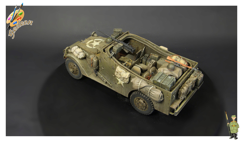 U.S. M3A1 « White scout Car » 1/35 de la marque HobbyBoss - Page 2 Img_0015