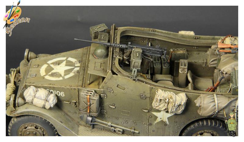 U.S. M3A1 « White scout Car » 1/35 de la marque HobbyBoss - Page 2 Img_0016