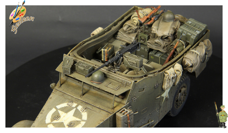 U.S. M3A1 « White scout Car » 1/35 de la marque HobbyBoss - Page 2 Img_0017