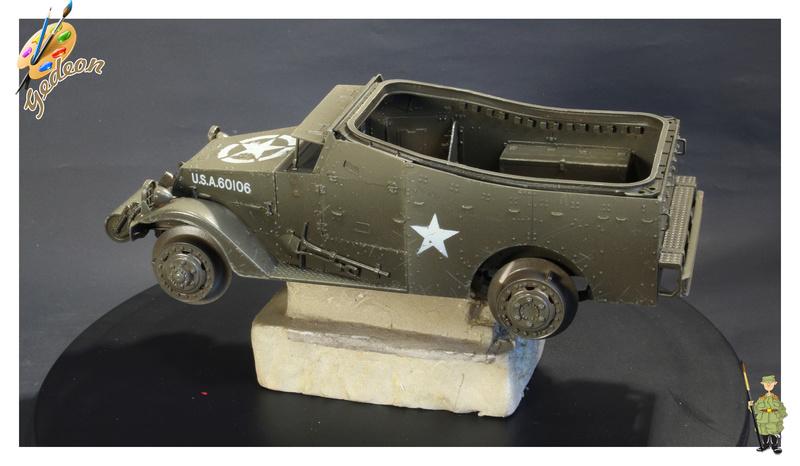 U.S. M3A1 « White scout Car » 1/35 de la marque HobbyBoss M3a1_p10