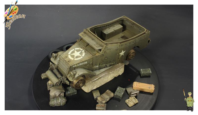 U.S. M3A1 « White scout Car » 1/35 de la marque HobbyBoss M3a1_p16