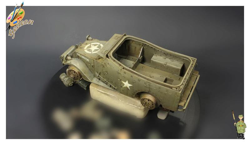 U.S. M3A1 « White scout Car » 1/35 de la marque HobbyBoss M3a1_p17