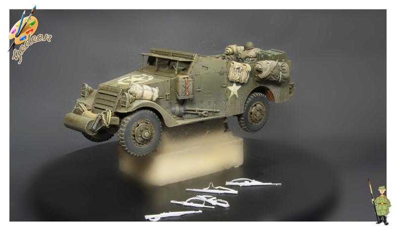 U.S. M3A1 « White scout Car » 1/35 de la marque HobbyBoss M3a1_p25