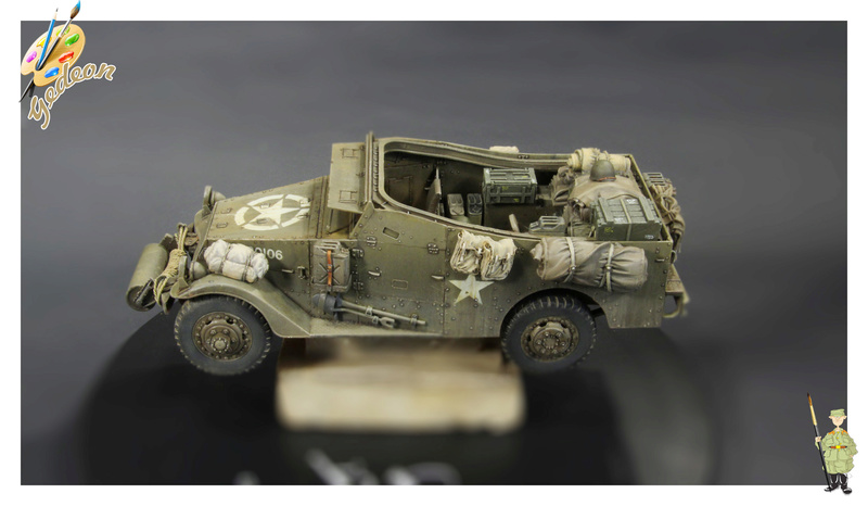 U.S. M3A1 « White scout Car » 1/35 de la marque HobbyBoss M3a1_p26