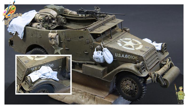 U.S. M3A1 « White scout Car » 1/35 de la marque HobbyBoss - Page 2 M3a1_p30