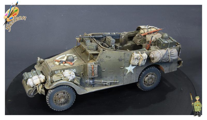 U.S. M3A1 « White scout Car » 1/35 de la marque HobbyBoss - Page 2 M3a1_p31