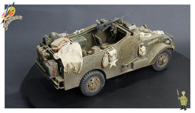 U.S. M3A1 « White scout Car » 1/35 de la marque HobbyBoss - Page 2 M3a1_p33