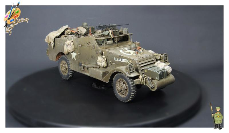 U.S. M3A1 « White scout Car » 1/35 de la marque HobbyBoss - Page 2 M3a1_p39
