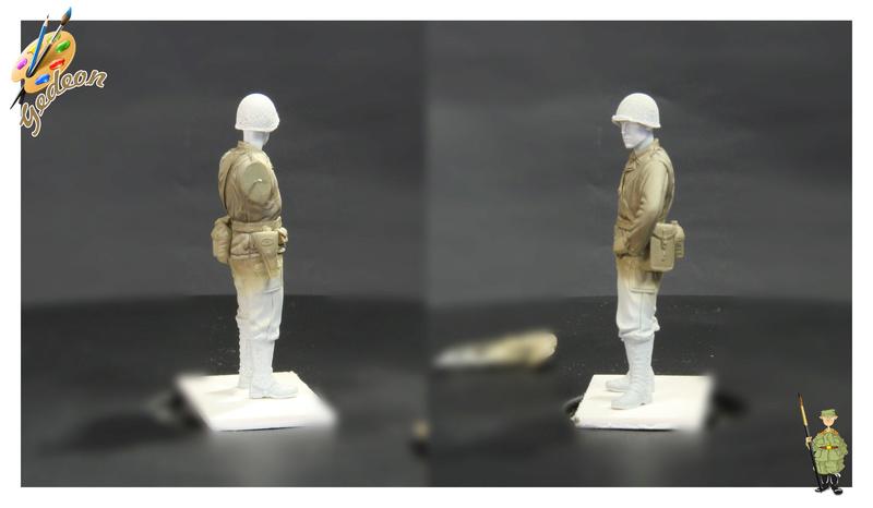 Sergent US WWII (44-45) de la marque DRAGON au 1/35ème (réf :6653) Phase313