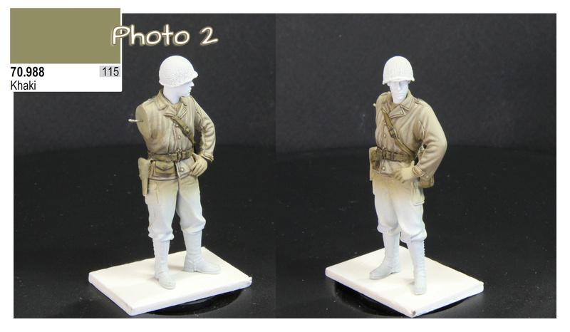 Sergent US WWII (44-45) de la marque DRAGON au 1/35ème (réf :6653) Phase412