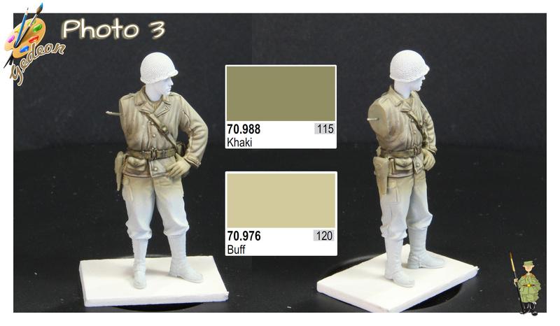 Sergent US WWII (44-45) de la marque DRAGON au 1/35ème (réf :6653) Phase414