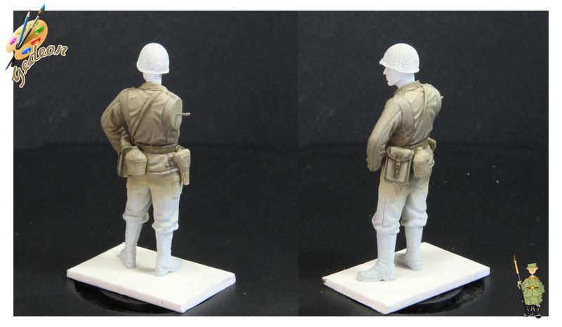 Sergent US WWII (44-45) de la marque DRAGON au 1/35ème (réf :6653) Phase415