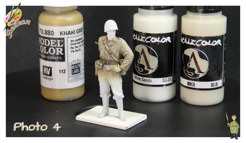 Sergent US WWII (44-45) de la marque DRAGON au 1/35ème (réf :6653) Phase416
