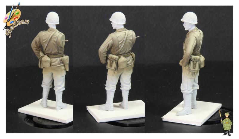 Sergent US WWII (44-45) de la marque DRAGON au 1/35ème (réf :6653) Phase418
