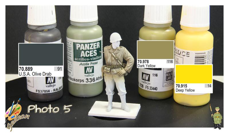 Sergent US WWII (44-45) de la marque DRAGON au 1/35ème (réf :6653) Phase419