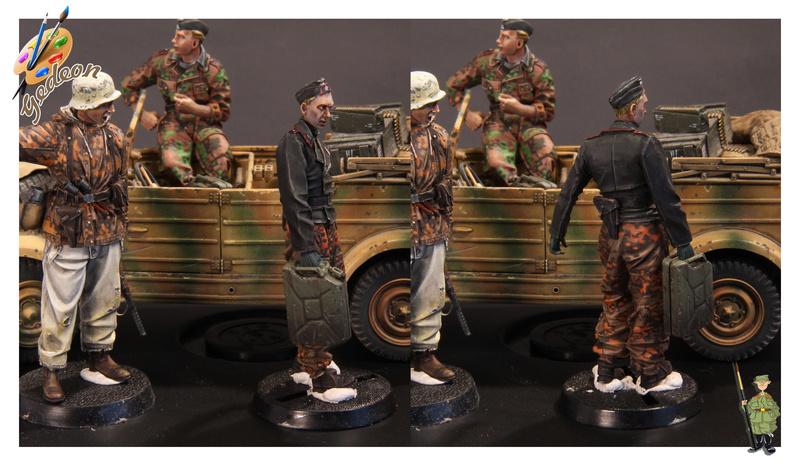 Le porteur de jerrican ! Evolution miniatures en résine au 1/35 Soldat21