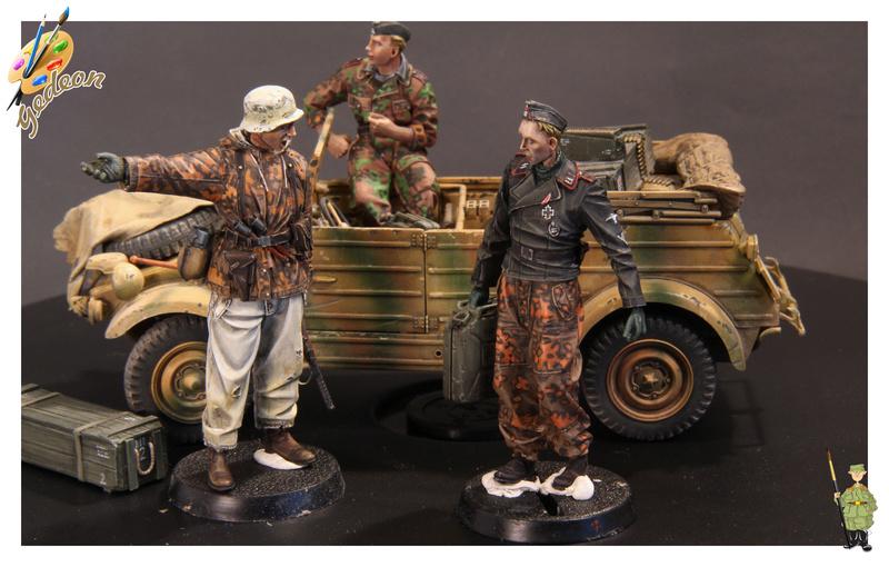 Le porteur de jerrican ! Evolution miniatures en résine au 1/35 Soldat24