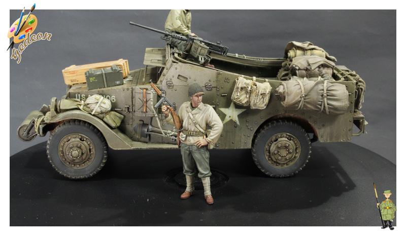 Sergent US WWII (44-45) de la marque DRAGON au 1/35ème (réf :6653) - Page 2 Soldat25