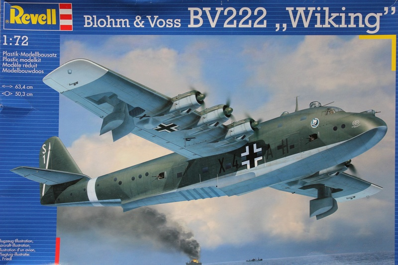 "[revell] BV-222 ""Wiking"" the flying boat au 1/72 Img_9021"