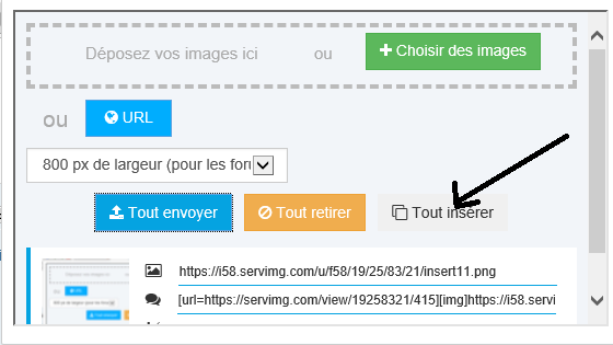 TUTORIEL METTRE IMAGE (OU PHOTO) SUR LE FORUM Insert12