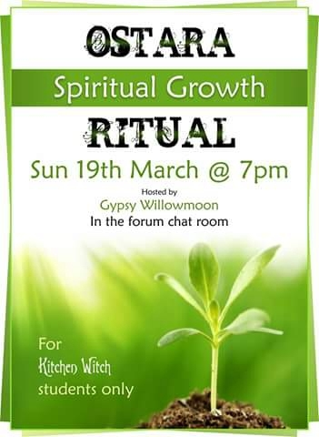Ostara online ritual for students 903f7a10