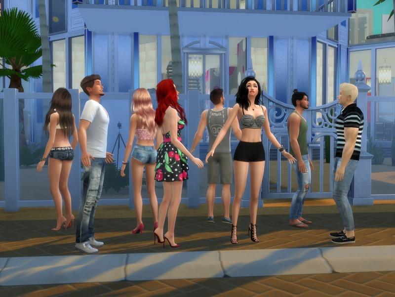Téléréalités - Les Sims à Oasis springs 1_140