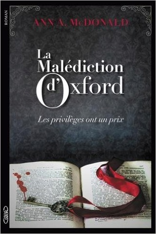 LA MALEDICTION D'OXFORD d'Ann A. MacDonald 51goa010