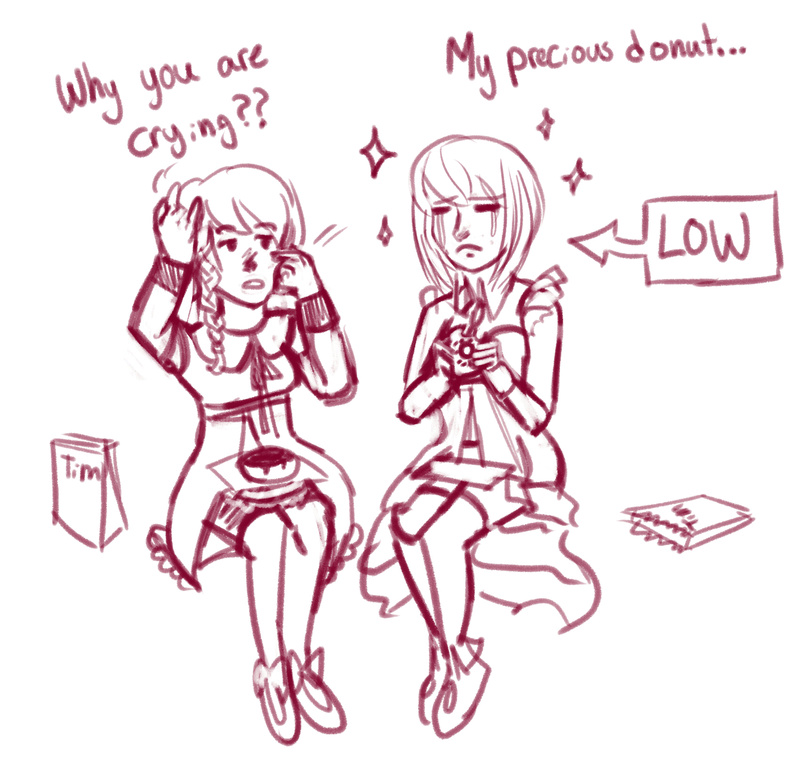The Magical Girl Duo with Chronic Conditions My_pre10