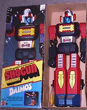MATTEL : tous les jouets, gamme par gamme ==> 1989 Daimos10