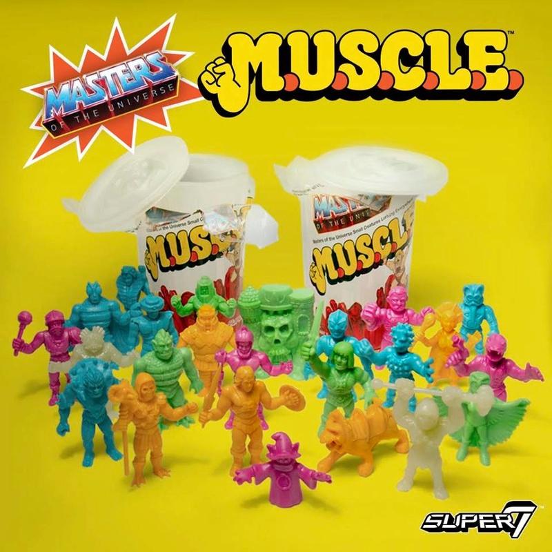 SUPER 7  - Masters of the Universe MOTU M.U.S.C.L.E  Motusc11
