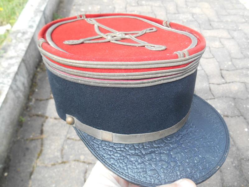 Képi capitaine de Cuirassiers Dscn2250