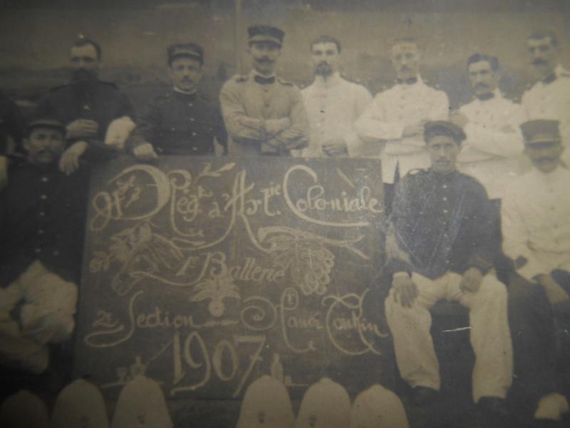 photo 4e régiment d'artillerie coloniale Hanoï 1907 Dscn2344
