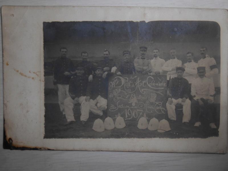 photo 4e régiment d'artillerie coloniale Hanoï 1907 Dscn2345